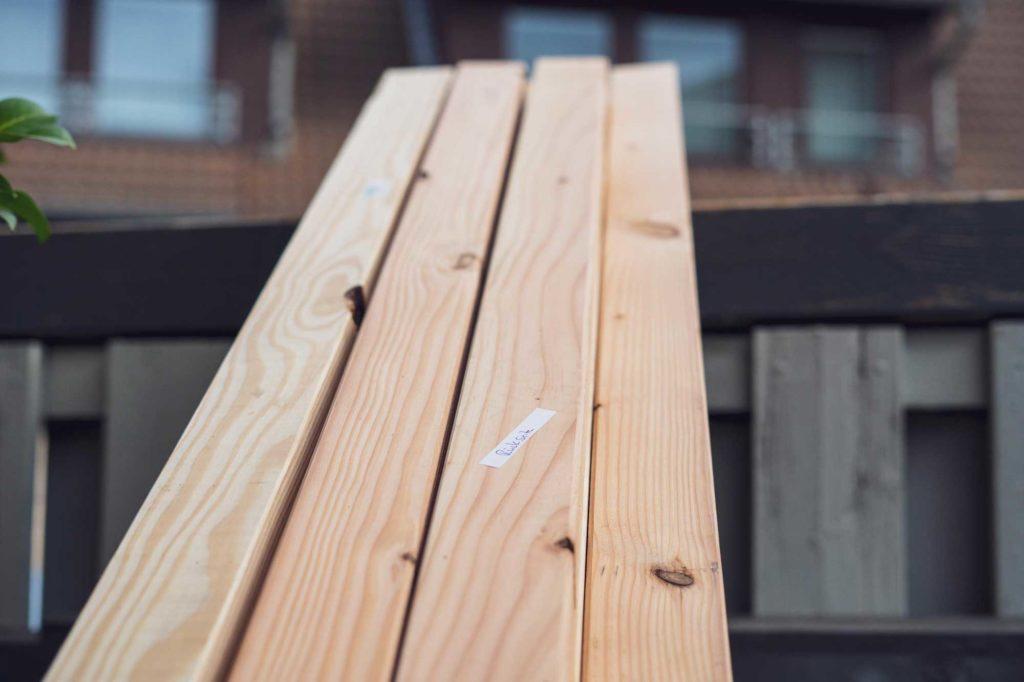 Holz ist Sortiert