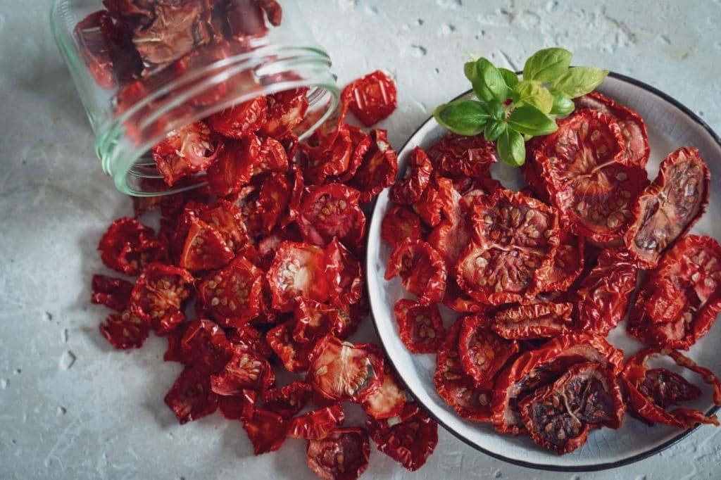 frisch getrocknete Tomaten