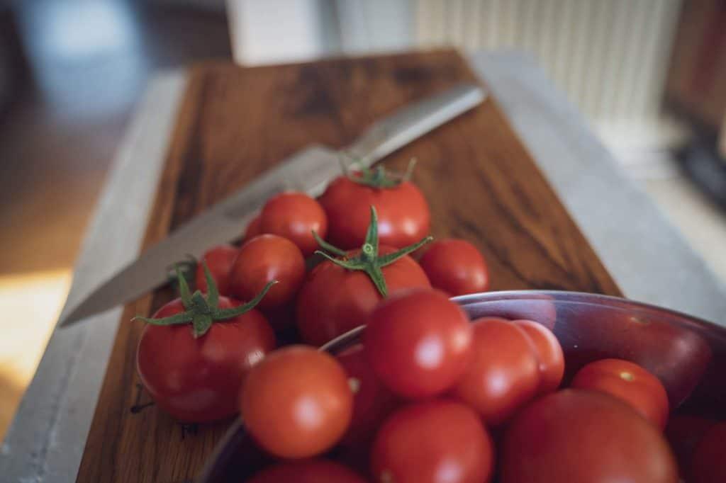 Saftige, rote Tomaten
