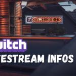 Twitch Live Stream Infos